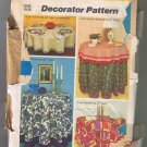 Simplicity 5474 Round Tableclothes & Napkins - Cut & Complete