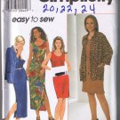 Simplicity 7687 Misses Dress and Shirt - Sizes 20, 22, 24 - UNCUT / FACTORY FOLDED