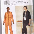 Butterick 3473 - Misses Shirt and Pants - Sizes 8, 10, 12 - UNCUT / FACTORY FOLDED