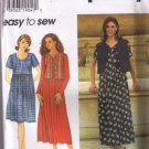 Simplicity 7199 Misses Dress and Lined Vest - Sizes L-XL  18, 20, 22, 24 -  UNCUT