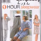Simplicity 9391 - 1 Hour Sleepwear - Misses, Mens Teens - Sizes L XL - UNCUT / FACTORY FOLDED