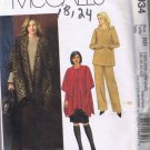 McCalls 4943 - Women's Jacket, Top, Skirt, Pants - Sizes 18W-20W-22W-24W UNCUT / FACTORY FOLDED