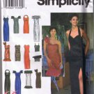 Simplicity 8970 - Misses / Miss Petite Evening Prom Dress - Sizes 10, 12, 14 - UNCUT Factory Folded