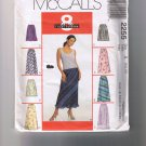 McCall's 2255 Misses Pull On Bias Skirt - 8 Looks - Sizes 6, 8, 10 - UNCUT Factory Folded