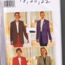 Butterick 4639 Misses Jacket - Sizes 18, 20, 22 - Uncut, Factory Folded