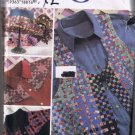 Simplicity 7082 Crafts Misses' Vest, Shirt, and Hat - Sizes XS-XL - UNCUT Factory Folded