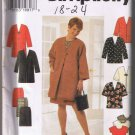 Simplicity 7471 - Women's Coat or Jacket, Top, and Skirt - Sizes 18W-24W - UNCUT Factory Folded