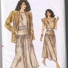 Vogue 9845 - Misses Jacket & Dress - Size 8-10-12 - UNCUT Factory Folded