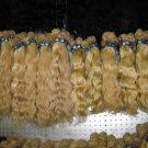 "Virgin Brazilian hair  2 PACKS 16"" 200 GRAMS deep wave 16 Inches"