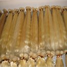 "Virgin Malaysian  Remy Hair 12""  2 PACKS BLONDE"