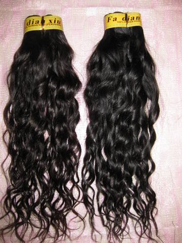 "Virgin Peruvian  Remy Hair 2 PACKS 16"" 200 GRAMS"