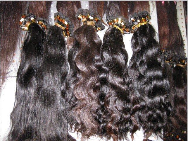 "Virgin Brazilian Remy hair 2 PACKS 18"" 200 GRAMS BLACK deep wave 18 Inches"