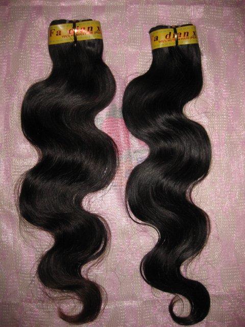 "Virgin Peruvian  Remy Hair  2 PACKS 24"" 200 GRAMS Body Wave"