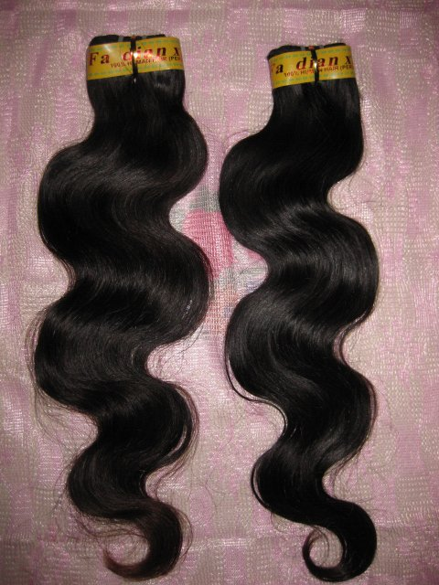 "Virgin Peruvian Hair Remy 2 PACKS 12"" 200 GRAMS -  Body Wave"