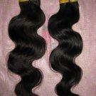 "Virgin Peruvian Hair Remy 2 PACKS 12"" 200 GRAMS -  Body Wave"