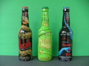 Blackadder, Green Mamba, & Snakebite � Premium Lager Beer with Fermented Apple Cider