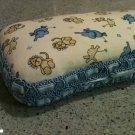 Safari/Jungle Baby diaper wipe case. Great baby shower gift elephant, giraffe & tiger