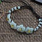 Flower jade bracelet