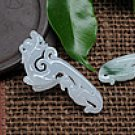 Natural jade a cargo archaize longfeng add-ons
