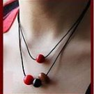 Necklace pendant-the fire of acacia