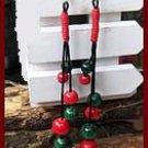 The original manual jade line jade earrings