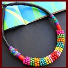 National manual necklace wax rope m bead necklace