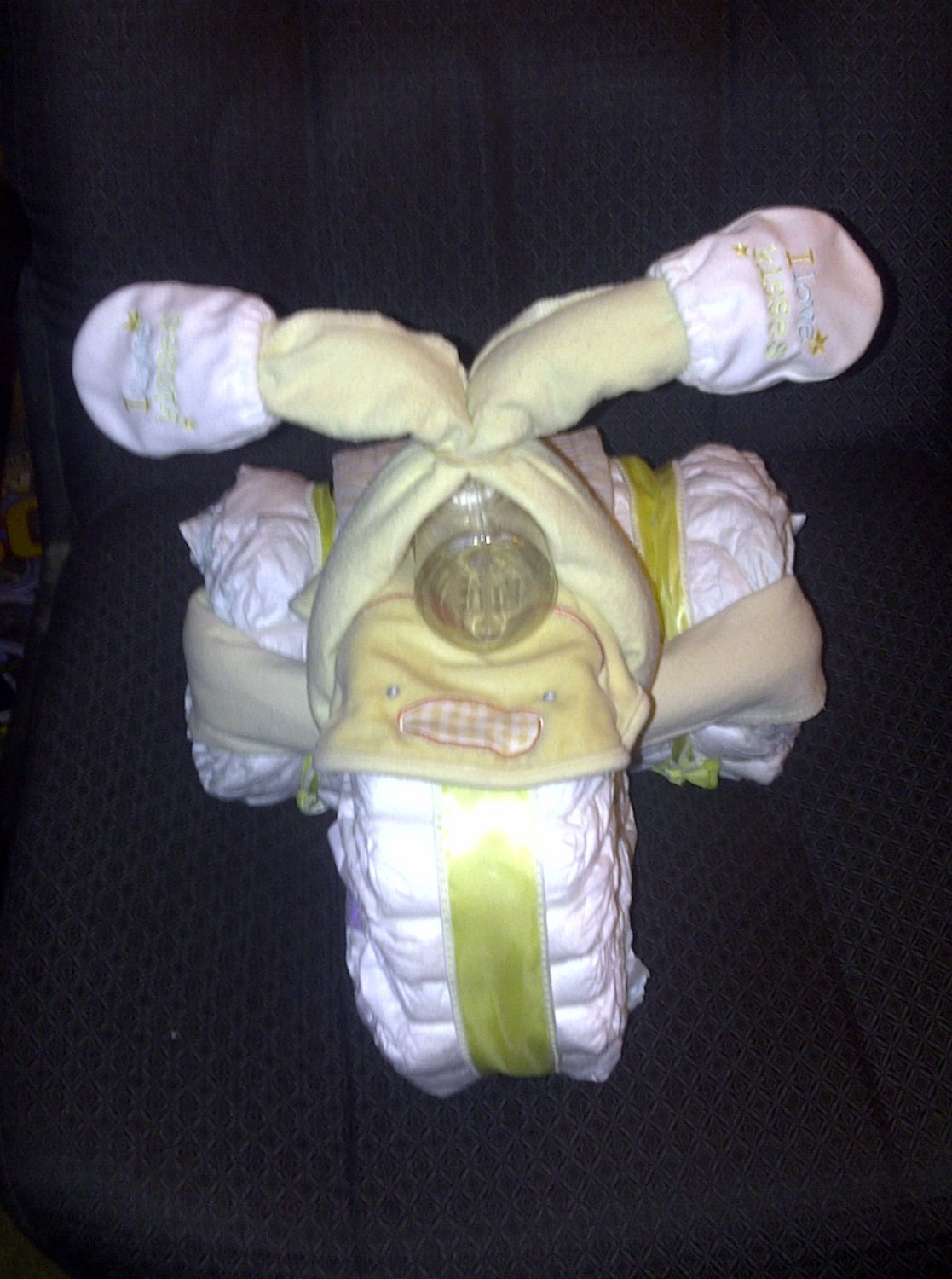 Tricycle Diaper Cake (Your Choice of Color)