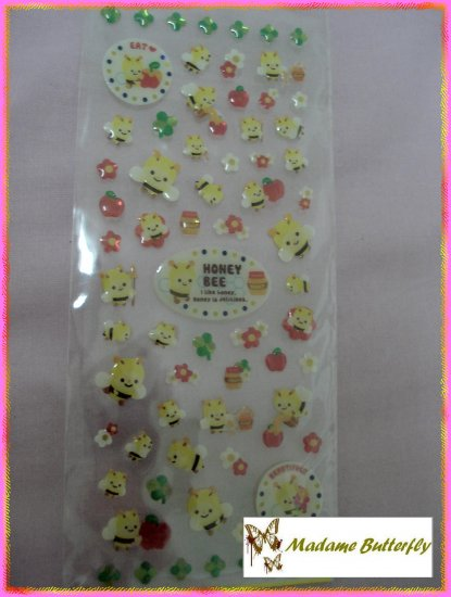 #bumble bee stickers 23