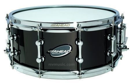 Easton Ahead Custom Black on brass 14 x 6 Snare Drum Kit percussion New