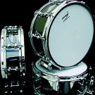 Ahead Black on brass 14 x 4 Snare Drum percussion New