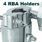 4 Gibraltar RBA Custom percussion Drum Rack Cymbal arm Holder