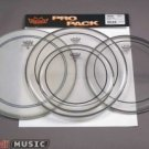 """Remo 12,13,16 + 14"""" Pinstripe Pack Drum heads percussion"""