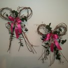 '2' Pink Bows (Item #031)
