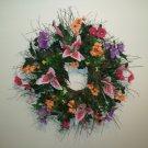 """24"""" Spring Wreath (Item #033)"""