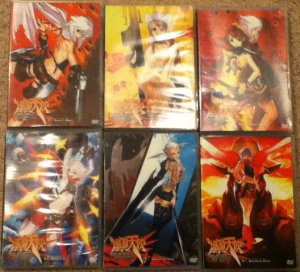 Burst Angel DVD vol 1-6 complete set