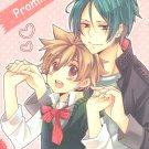 Katekyo Hitman Reborn doujinshi - Promise +10 by Pink Peach - Mukuro X Tsuna
