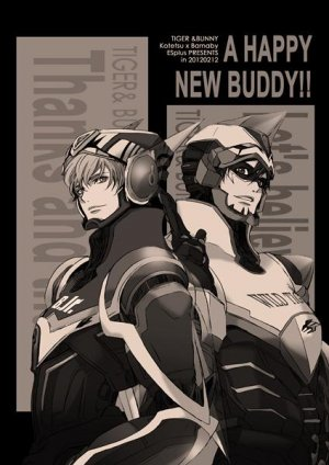 Tiger and Bunny doujinshi - A HAPPY NEW BUDDY!! by ESplus - Kotetsu X Barnaby