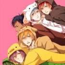 Kuroko no Basket doujinshi - PajamaParty - All characters