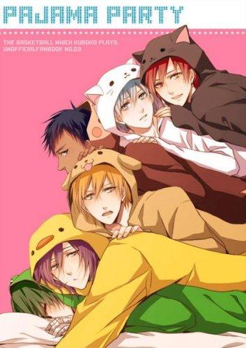 Kuroko no Basket doujinshi - PajamaParty - All characters