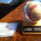 MickyMantle,JoeDimaggio,ReggieJackson,DonMattingly autographd baseball