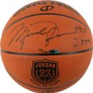 Michael Jordan Autographed Official NBA Spalding Basketball