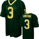Joe Montana Notre Dame Fighting Irish Autographed Green Custom Jersey