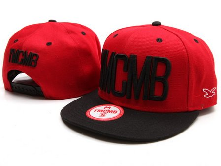 YMCMB Red Snapback