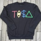 TISA Black Crewneck