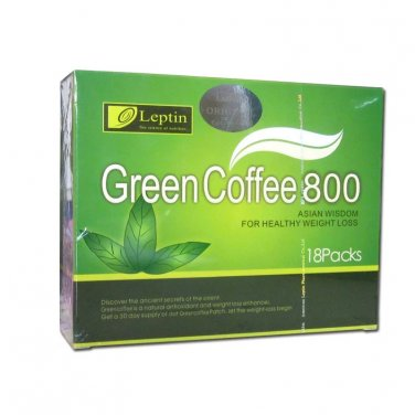 Leptin Green Coffee 800