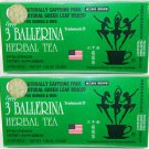 5 Boxes Original 3 Ballerina Tea-Diters Drink(Extra Strength)-Herbal Weight loss Tea