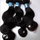 "free shipping 100% virgin brazilian hair body wave 16"", 3.5oz/pc"