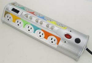 Power Bar with surge protector