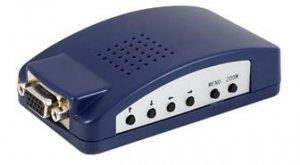 PC to TV converter (VGA to Composite video ( AV ) Converter)