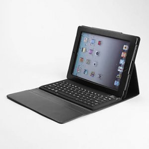 PU Leather Case with Bluetooth Keyboard for ipad Air
